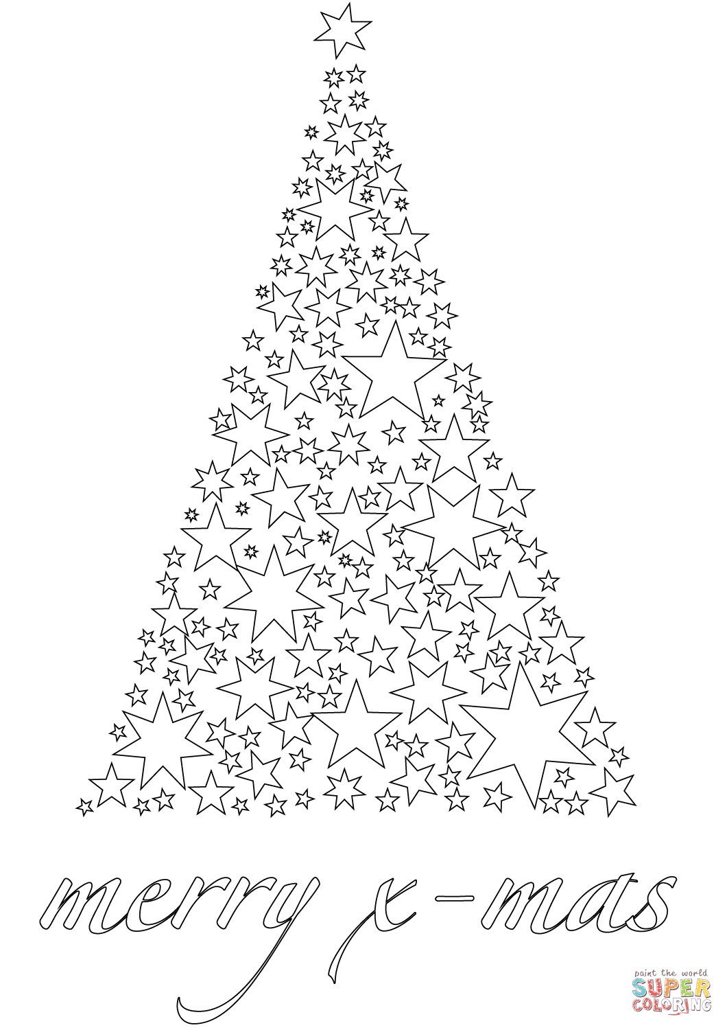 Christmas Card Colouring Pages With Merry Xmas Coloring Page Free Printable