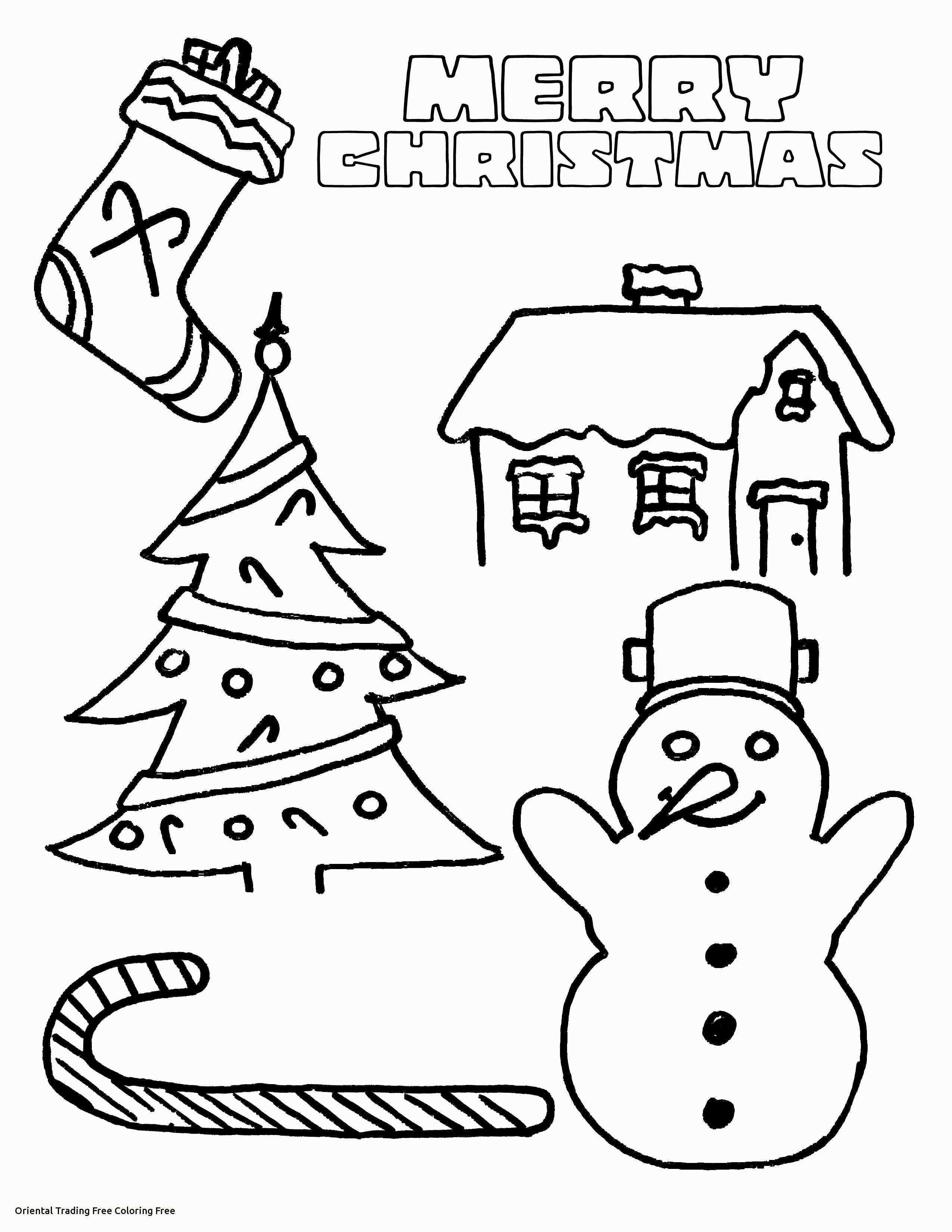 Christmas Cards Coloring Pages With Preschool Fresh Free Printable