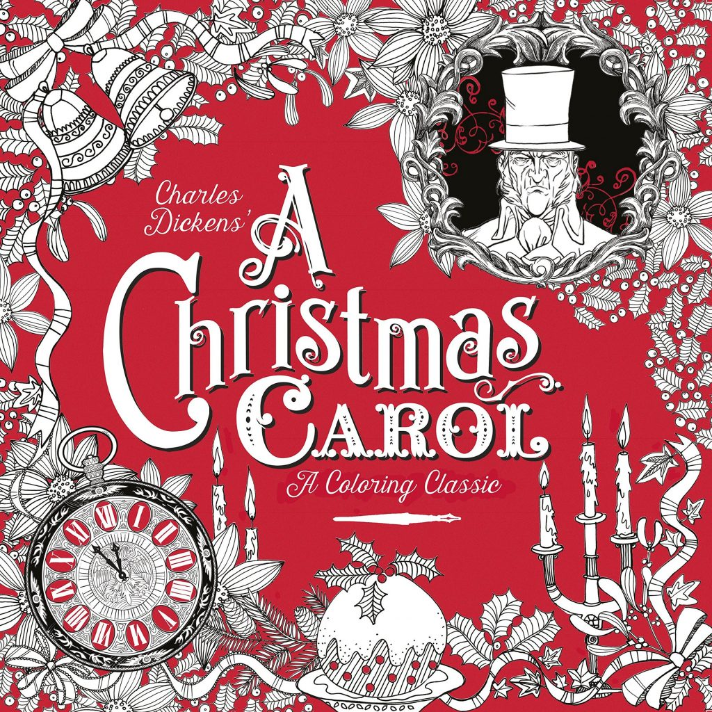 Christmas Carol Coloring Book With A Classic Charles Dickens Kate Ware