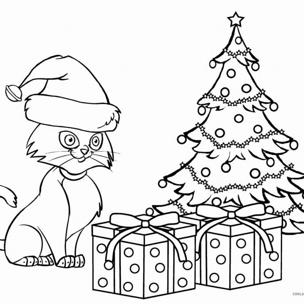 christmas-cat-coloring-pages-with-kitty-free