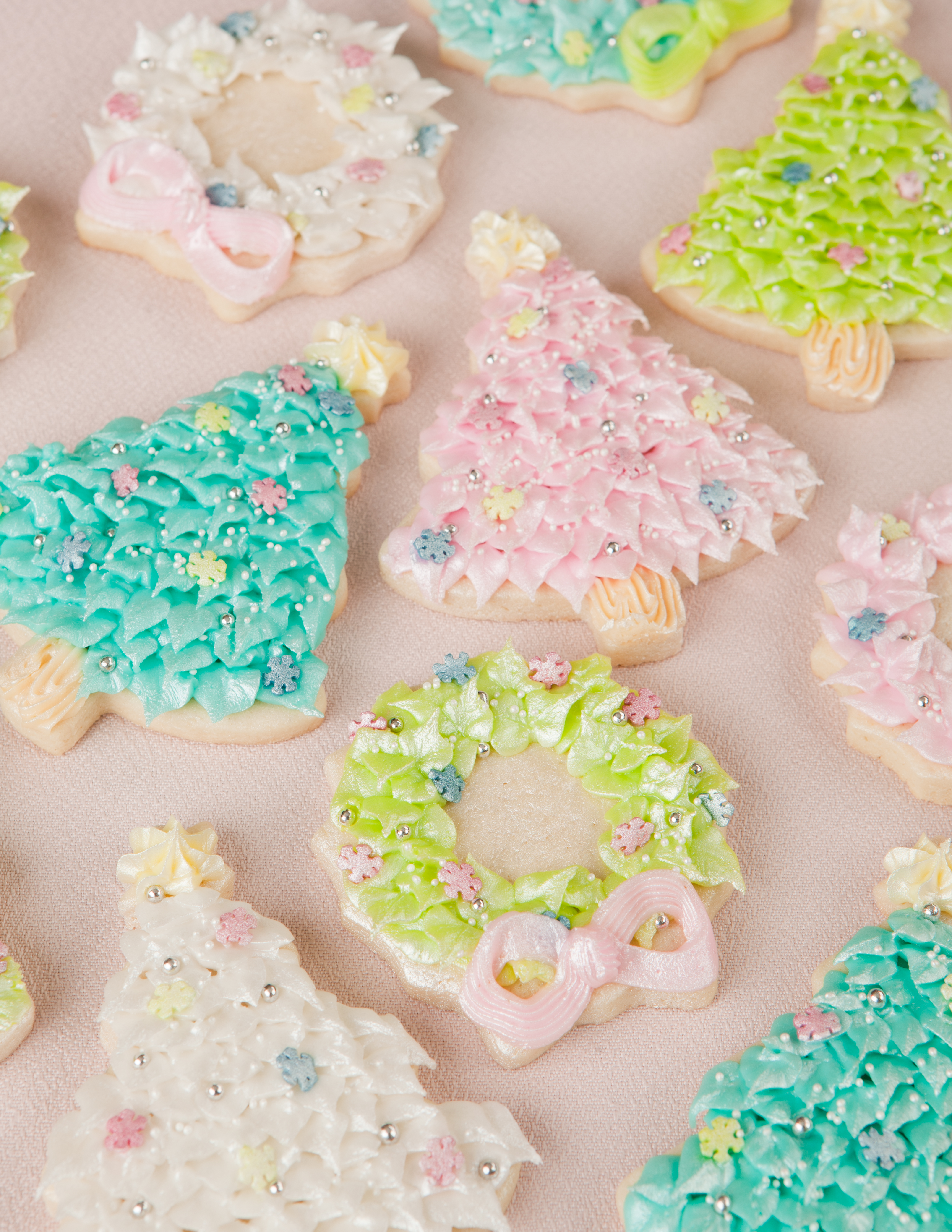 Christmas Colored Cookies With Cookie Decorating Page 2