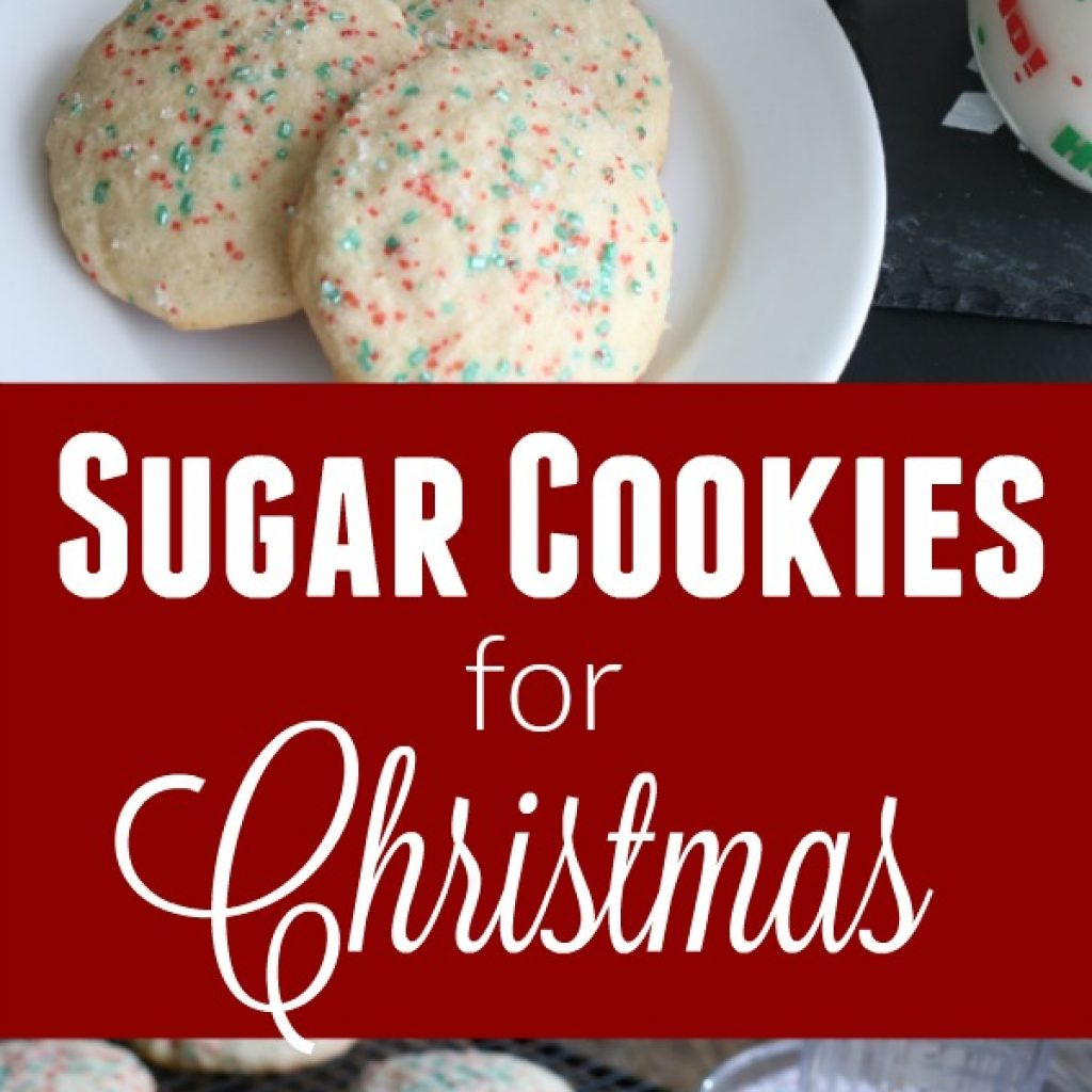 Christmas Colored Cookies With Sugar For Hoosier Homemade