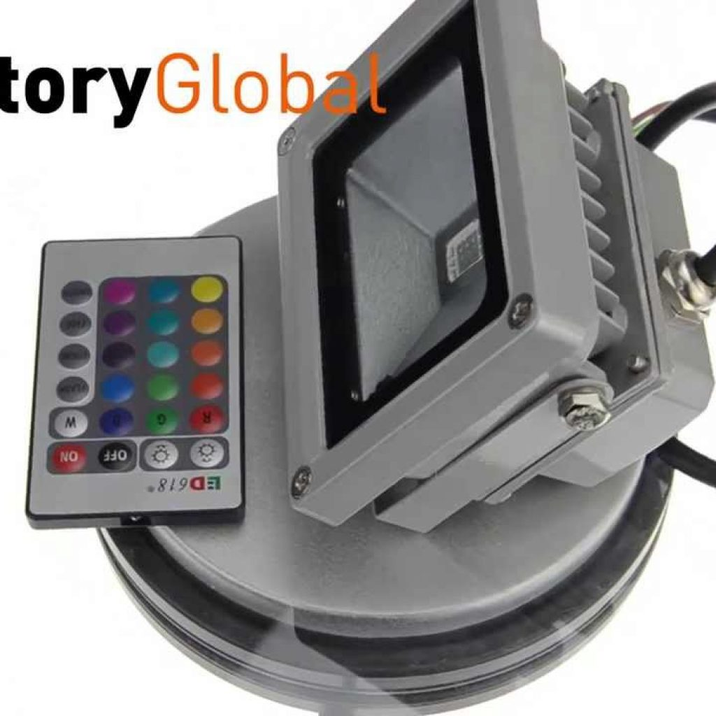Christmas Colored Flood Lights With 10W Waterproof Floodlight Landscape Lamp RGB LED Light Outdoor