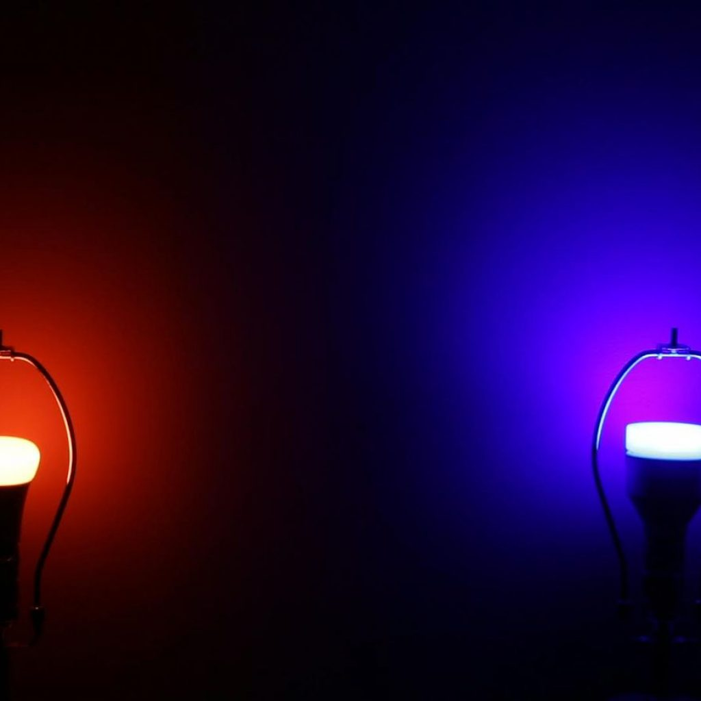 Christmas Colored Flood Lights With Philips Hue Vs Lifx Which Color Changing Smart Bulb Is Best CNET
