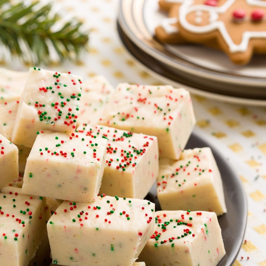 Christmas Colored Fudge With 15 Easy Dessert Recipes Cute Ideas For Desserts