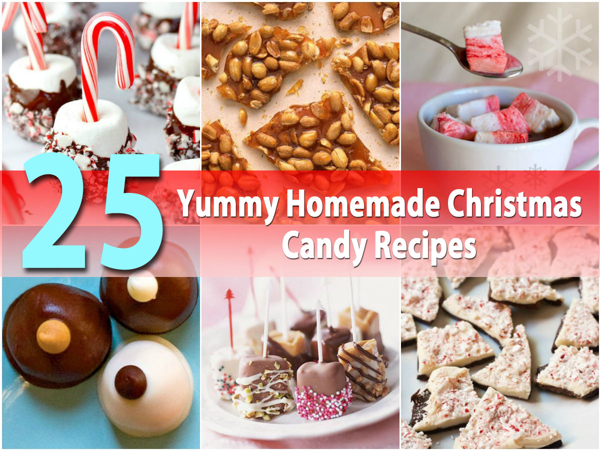 Christmas Colored Fudge With 25 Yummy Homemade Candy Recipes DIY Crafts
