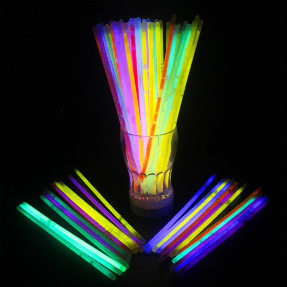Christmas Colored Glow Sticks With Aliexpress Com Buy 200Pcs Lot Multi Color Stick Light