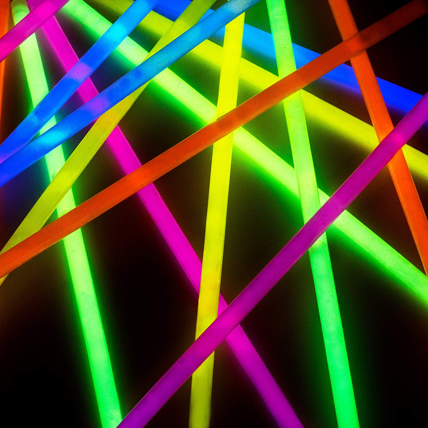 Christmas Colored Glow Sticks With Amazon Com Bulk Party Favors 300pk 8 In The