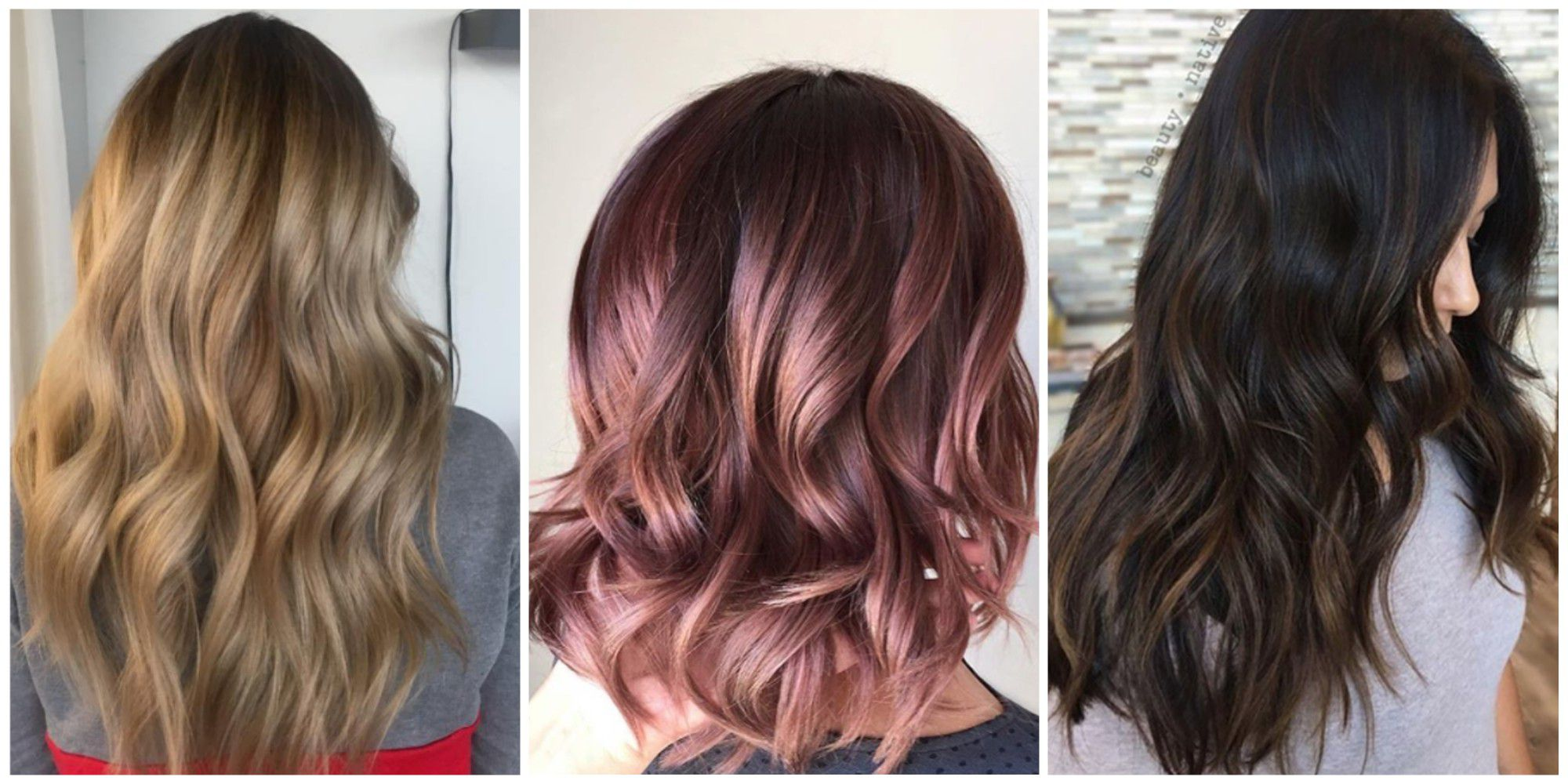 Christmas Colored Hair With 15 Color Ideas And Styles For 2018 Best Colors Products