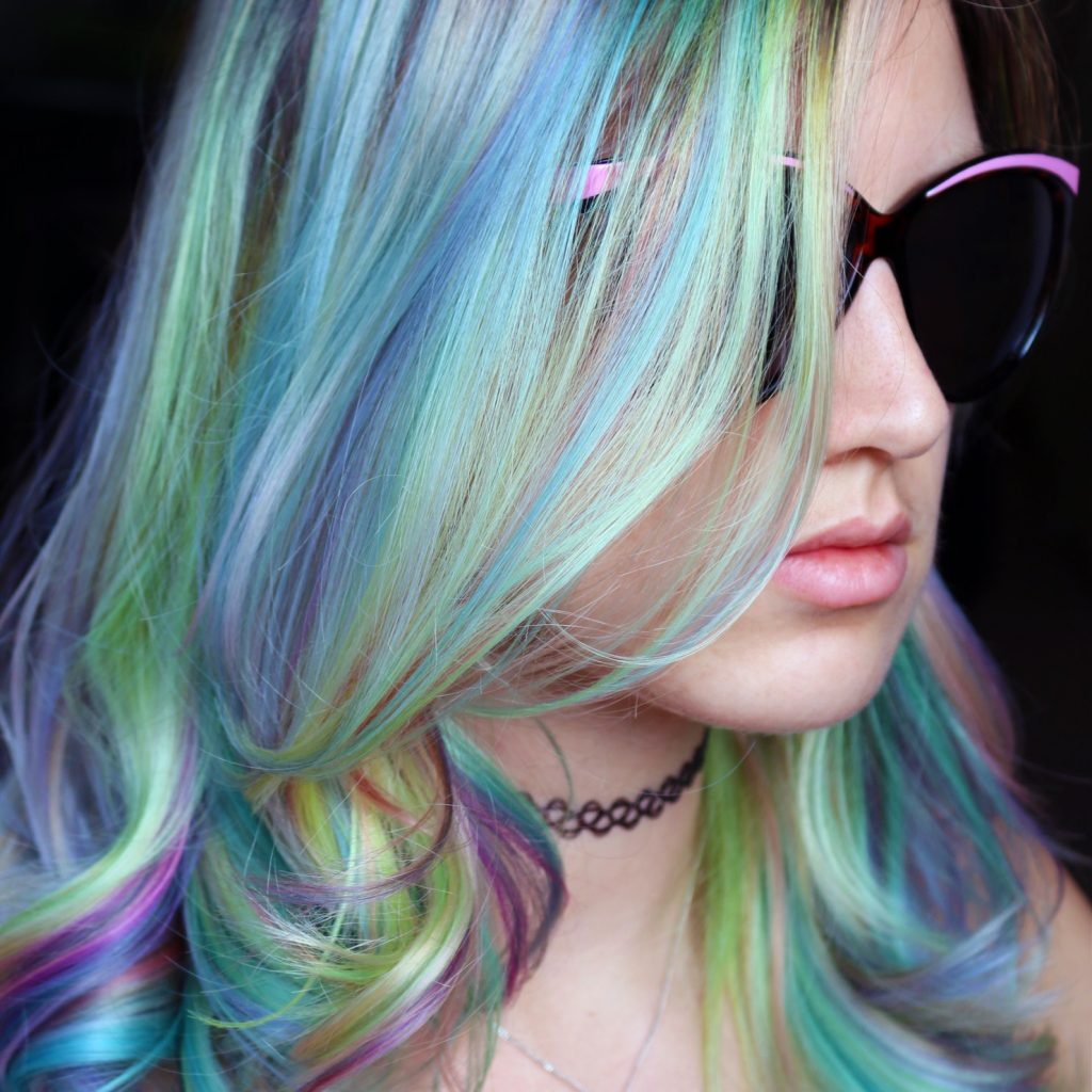 Christmas Colored Hair With Com Best Inspirationa Pastel