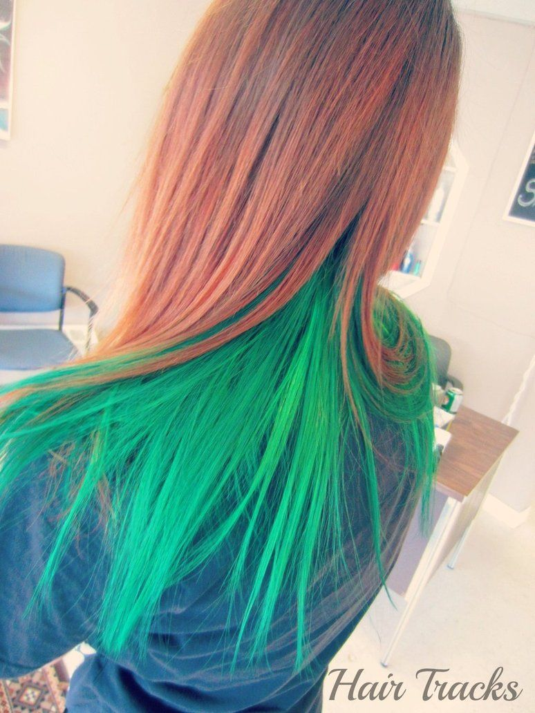 Christmas Colored Hair With Cool Green XD Pinterest Elumen Color