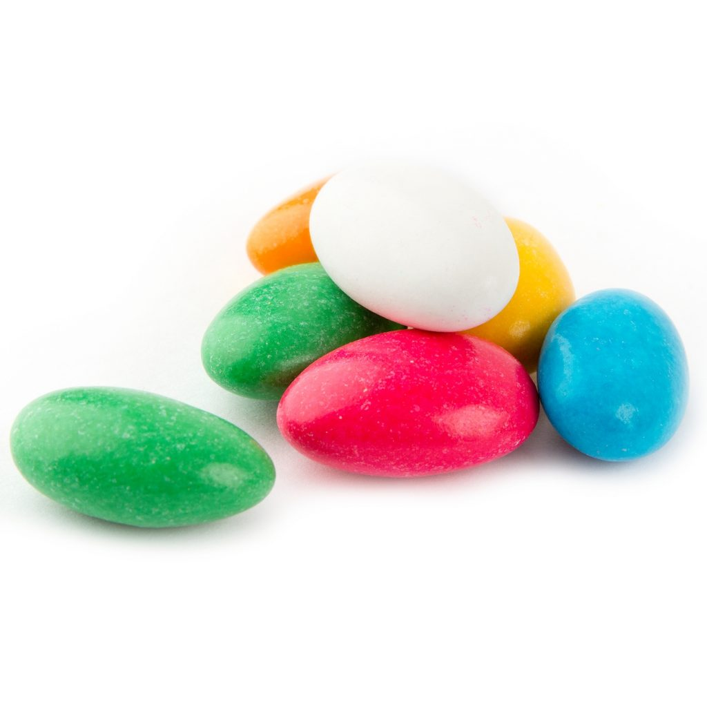 Christmas Colored Jordan Almonds With Candy By Color Oh Nuts