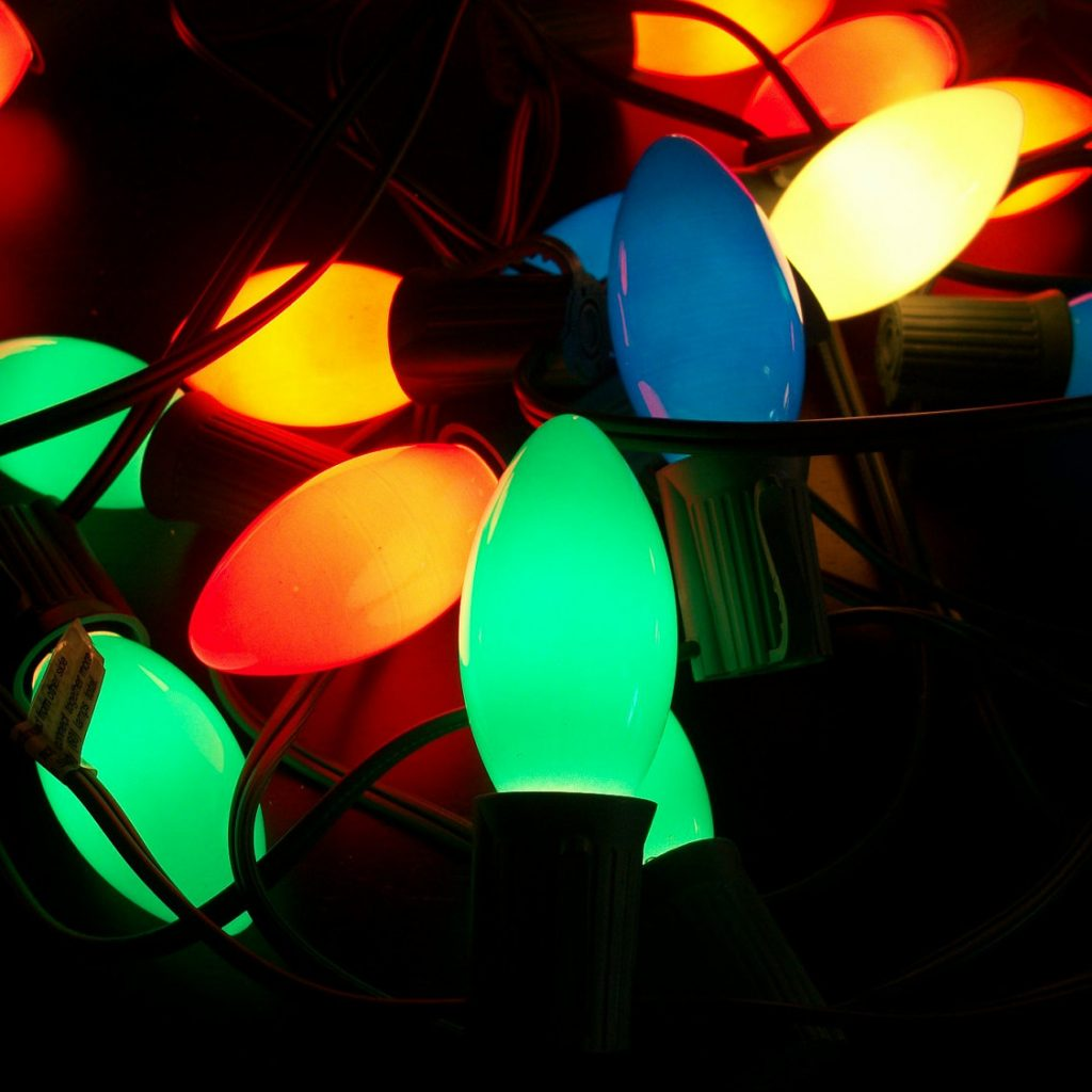 Christmas Colored Light Bulbs With Lights Large R Jesse Lighting