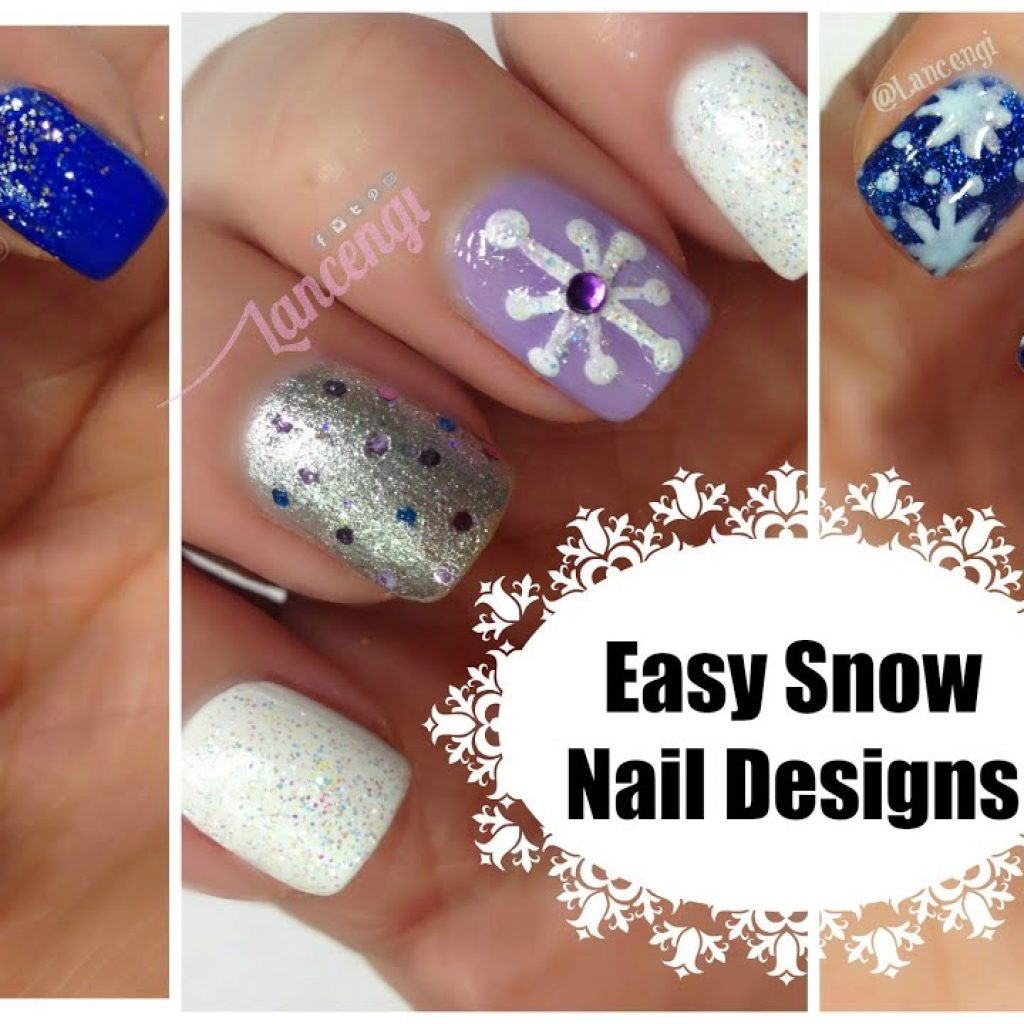 Christmas Colored Nails With DIY Cute Easy Snowflake Nail Polish The Ultimate Guide