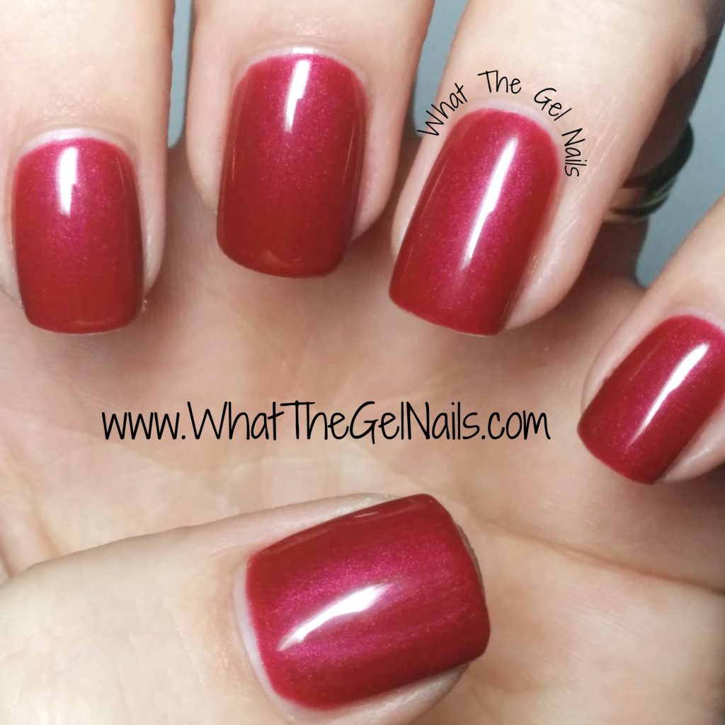 Christmas Colored Nails With IBD Just Gel Nail Colors