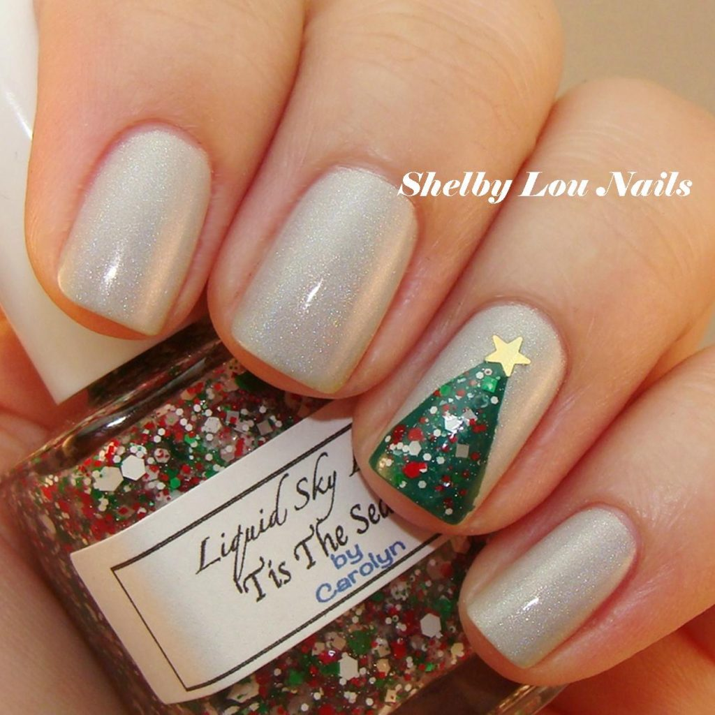 christmas-colored-nails-with-shelby-lou-o-tree-nail-art-tutorial
