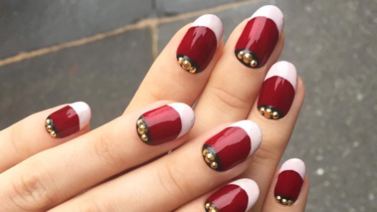 Christmas Colored Nails With The Best Nail Art From Instagram Allure