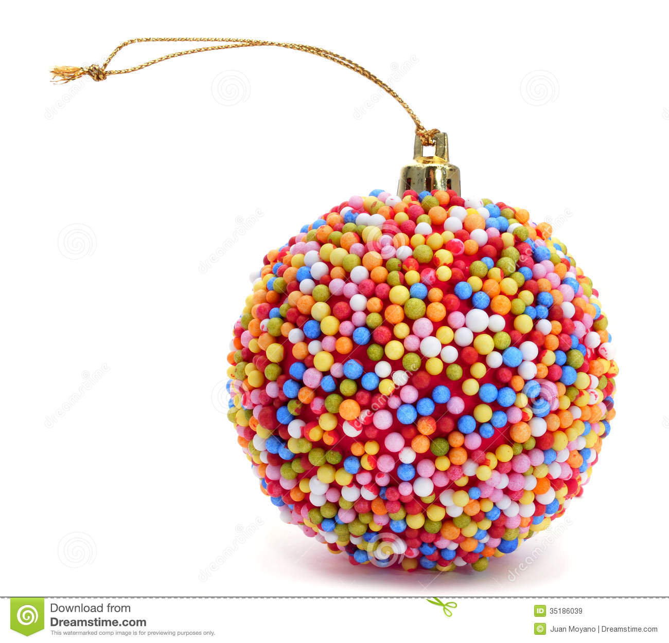 Christmas Colored Nonpareils With Candy Ball Stock Image Of Celebrate 35186039
