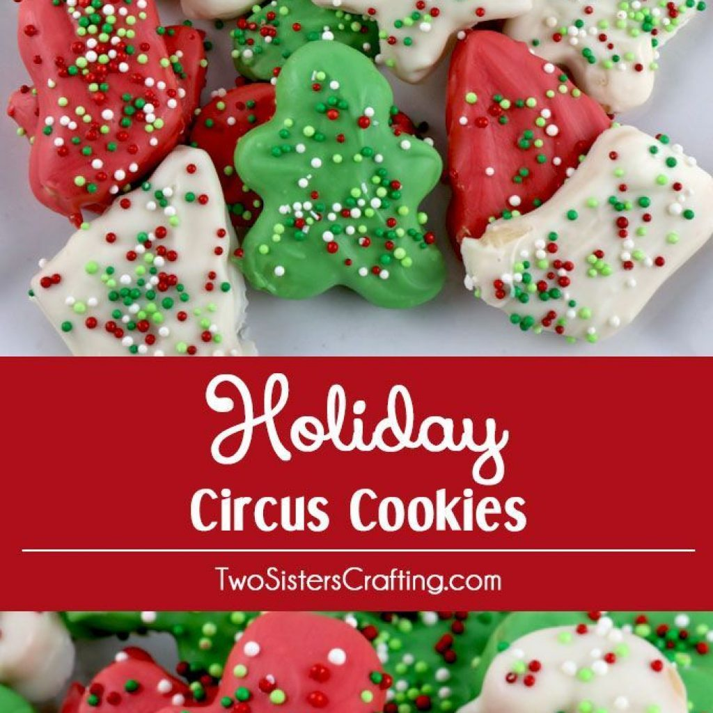 Christmas Colored Nonpareils With Holiday Circus Cookies Food Craft Ideas Pinterest