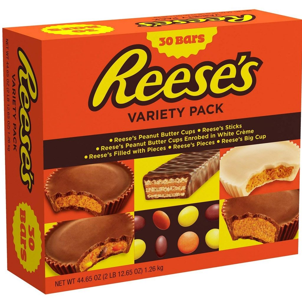 Christmas Colored Reese S Pieces With Amazon Com Chocolate Peanut Butter Candy Variety Pack