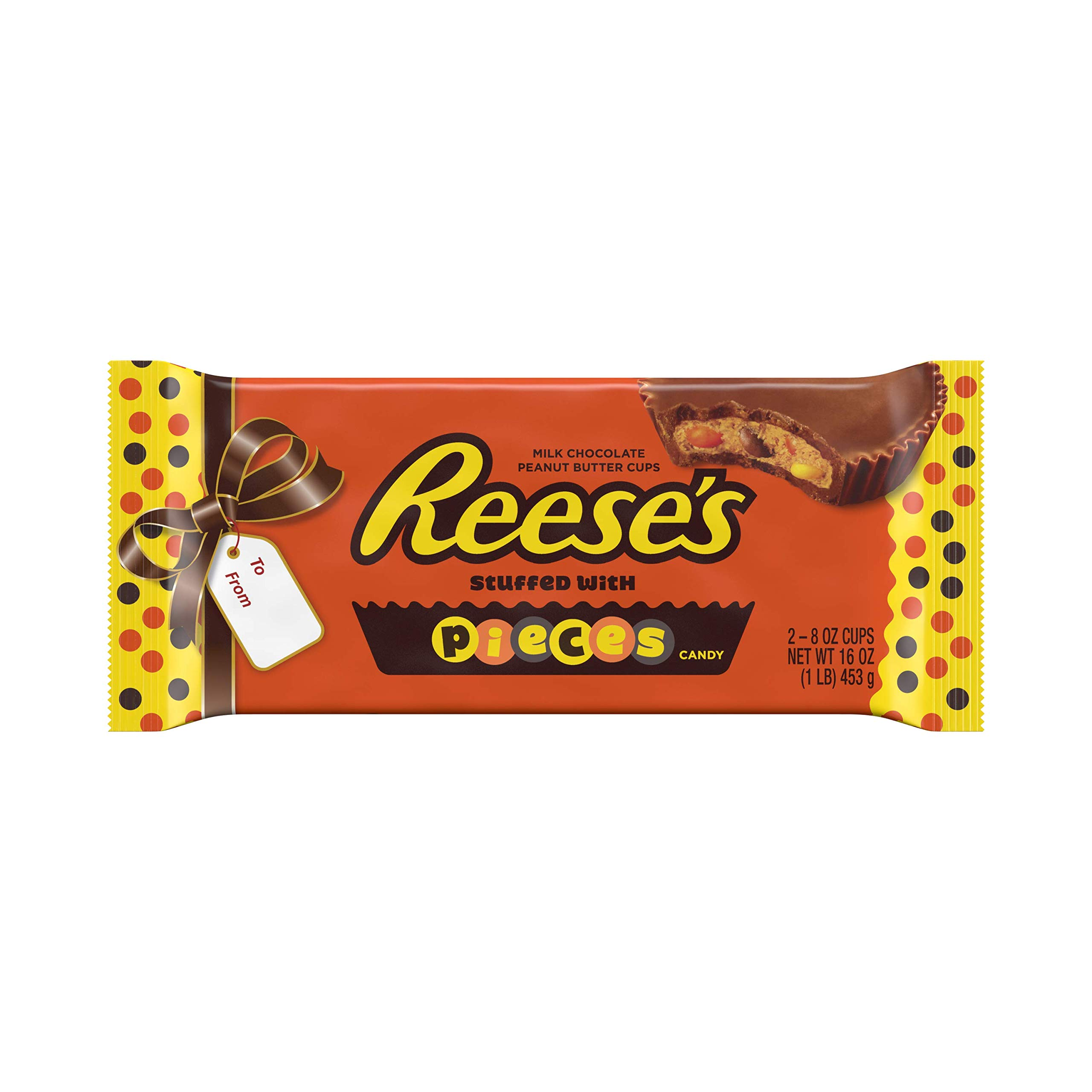 Christmas Colored Reese S Pieces With Amazon Com REESE PIECES 1 Pound Peanut Butter Cups