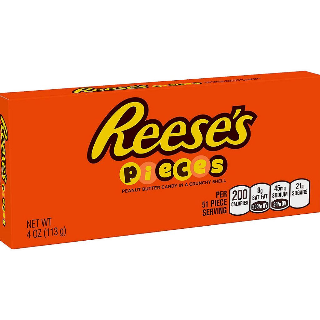 Christmas Colored Reese S Pieces With Peanut Butter Candy 153pc Party City