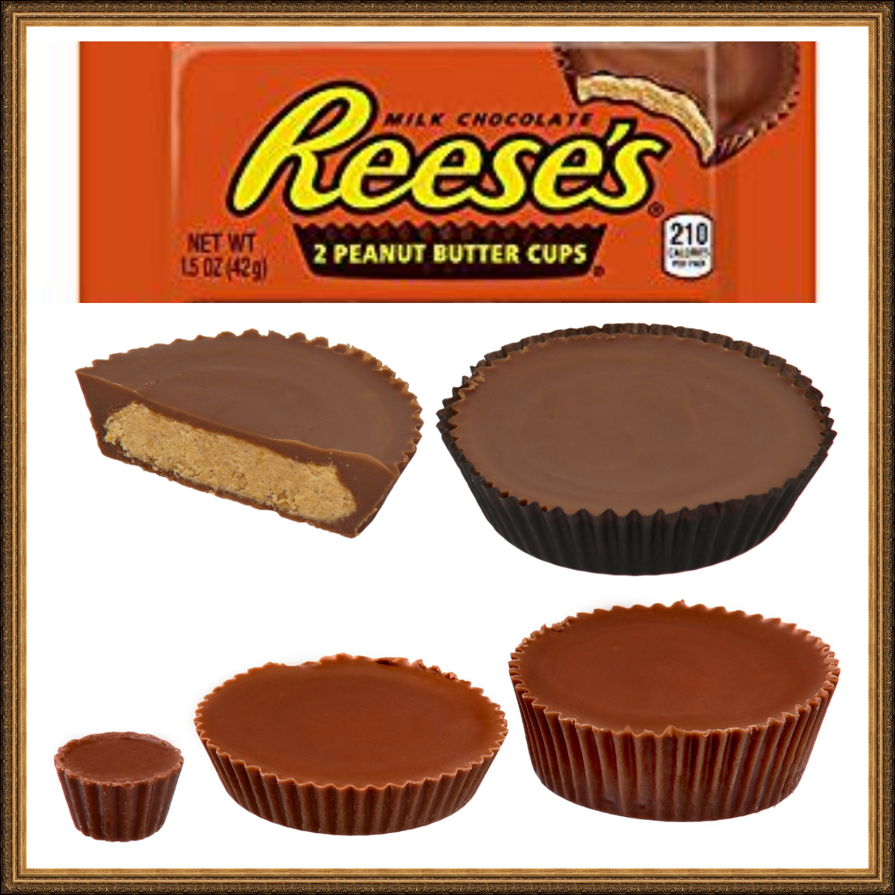 Christmas Colored Reese S Pieces With Peanut Butter Trees Review
