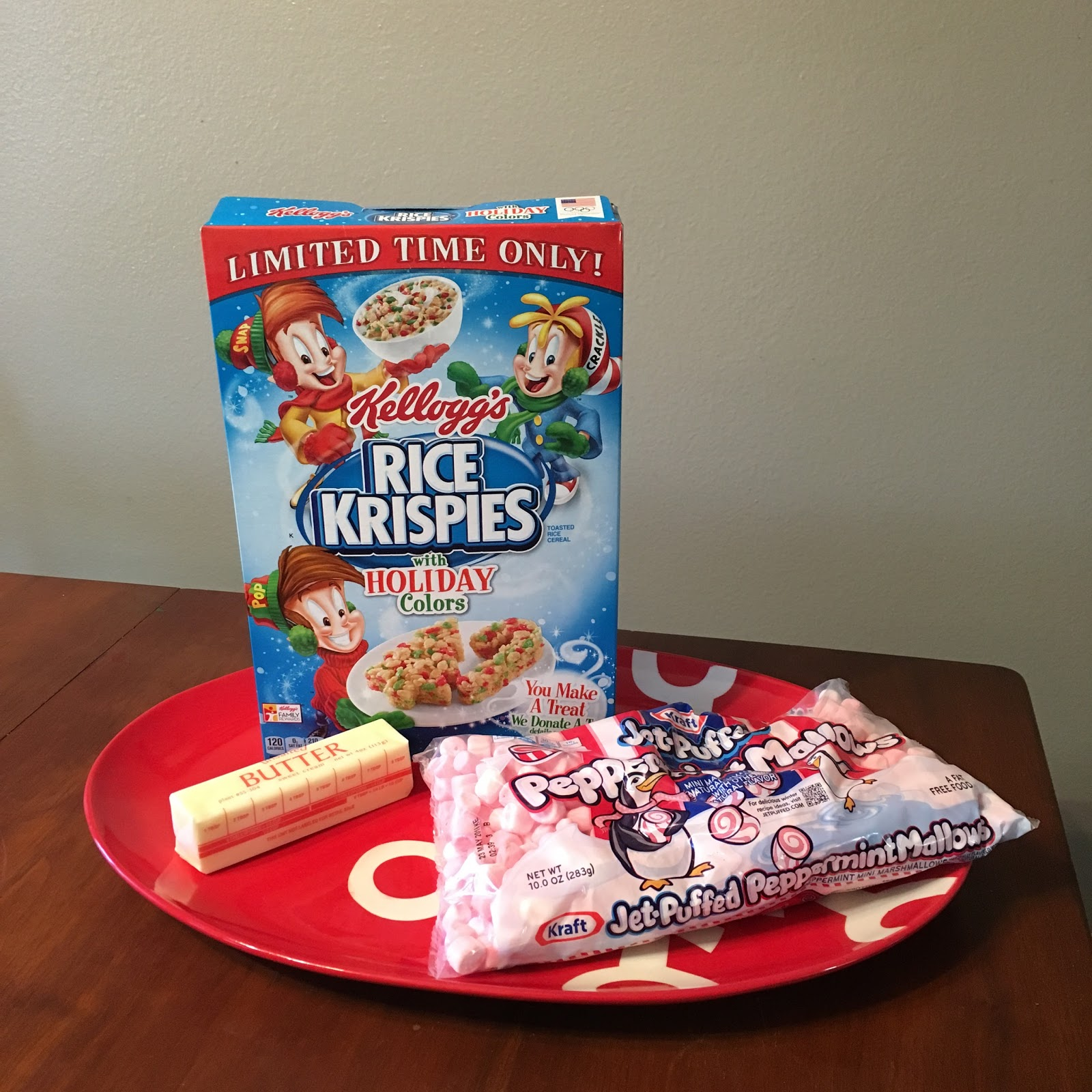 Christmas Colored Rice Krispies With Bybmg Krispie Treats