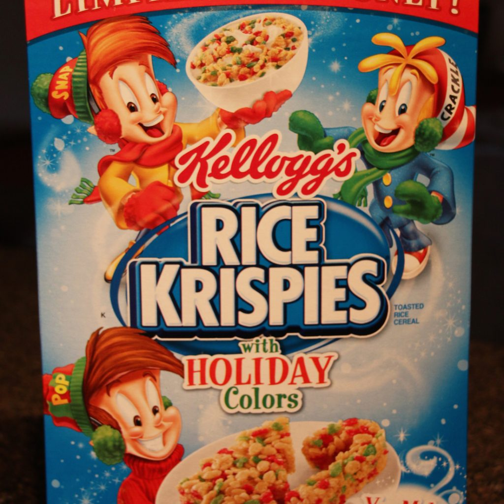 Christmas Colored Rice Krispies With Review Holiday Colors Cereal