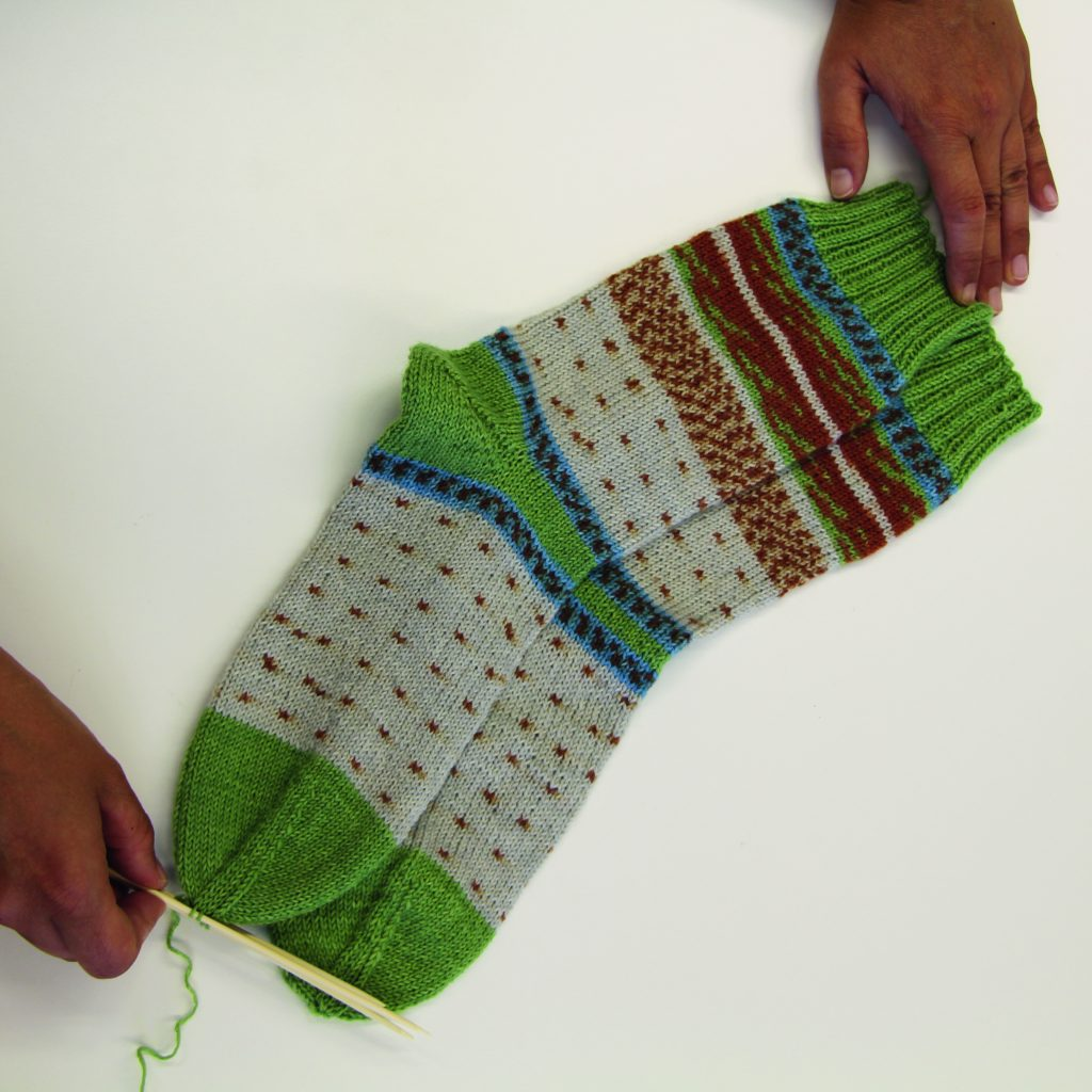 Christmas Colored Sock Yarn With HOW TO KNIT TWO IDENTICAL SOCKS WITH REGIA PAIRFECT ARNE CARLOS
