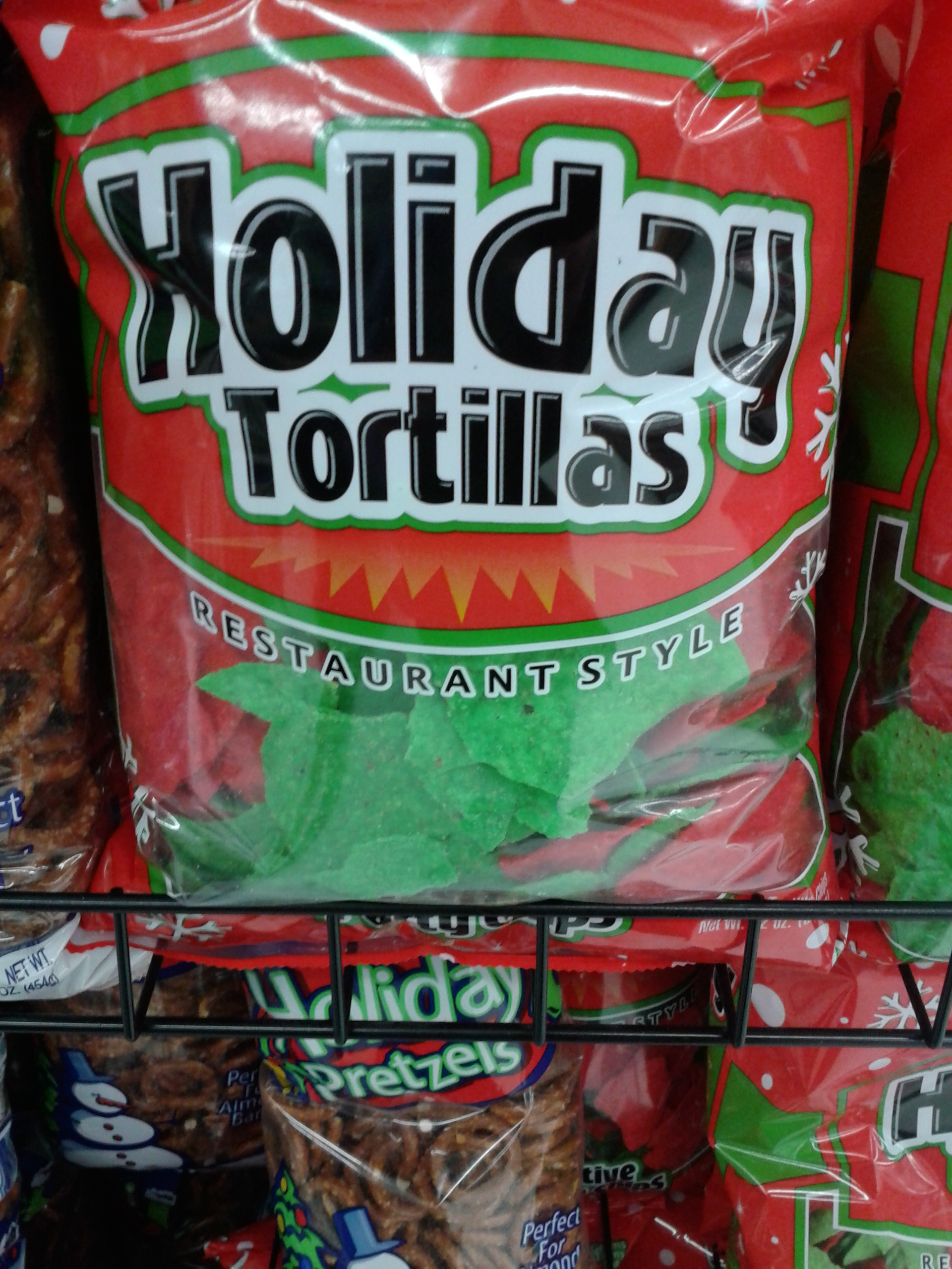 Christmas Colored Tortilla Chips With Rusty Taco Kzzinsky Home