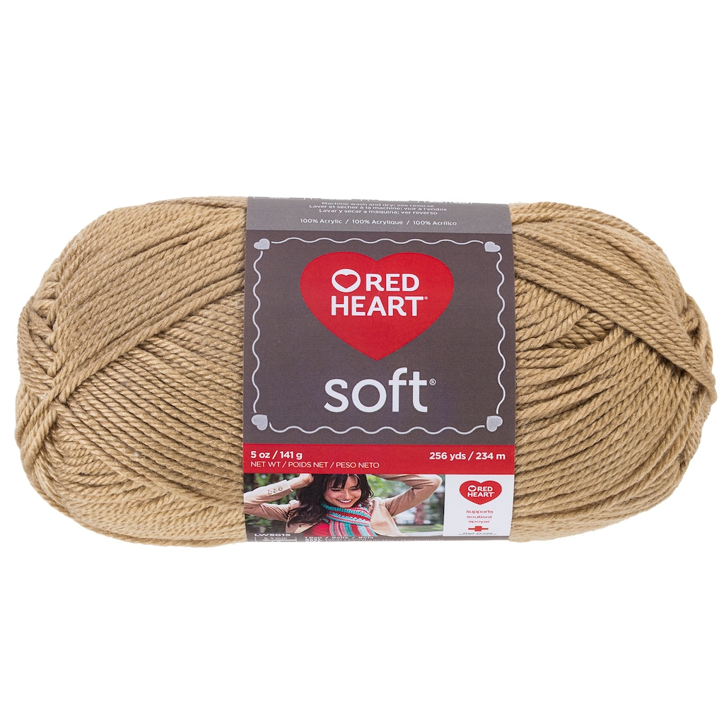Christmas Colored Yarn With Red Heart Soft Solid