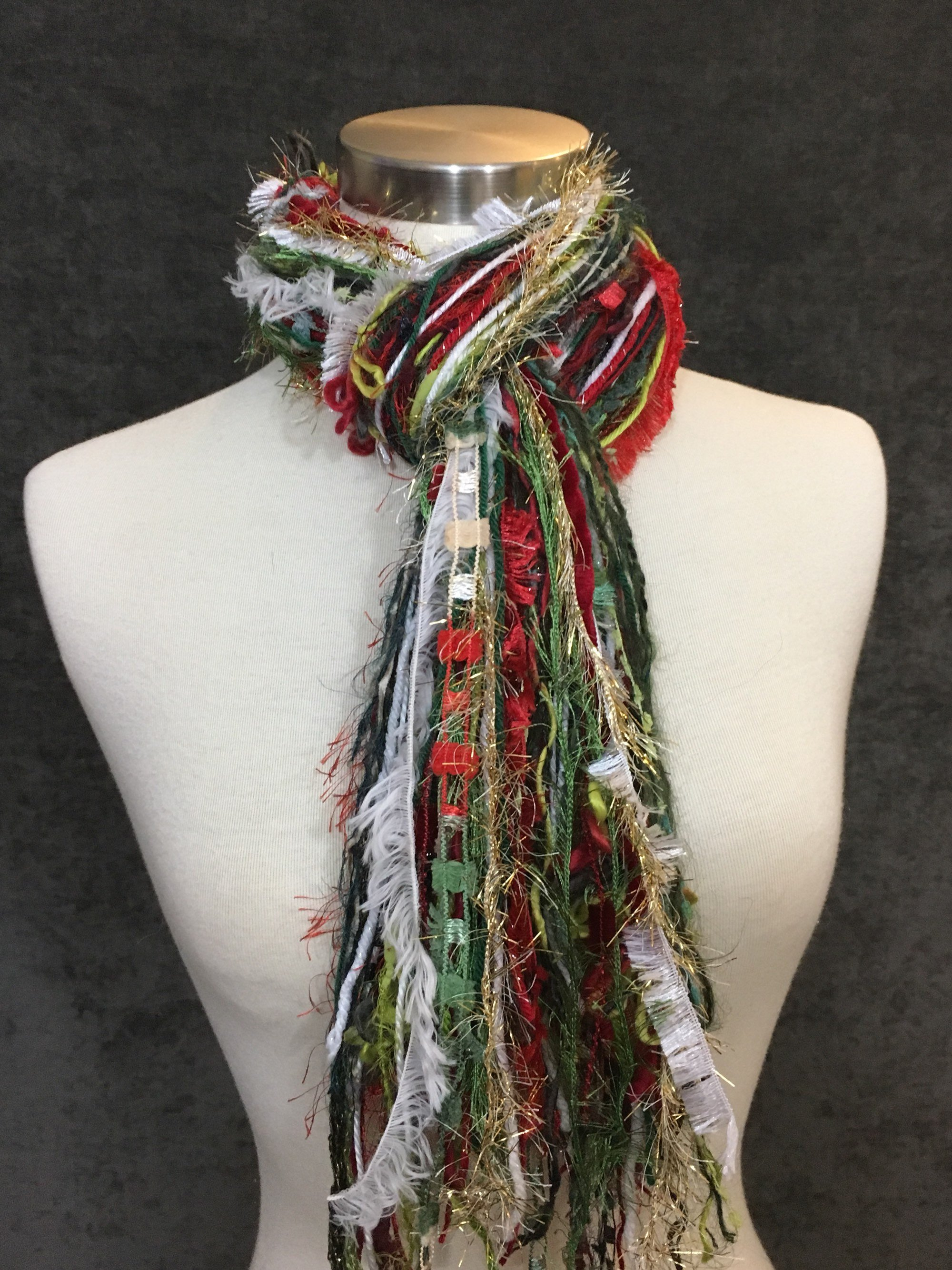 Christmas Colored Yarn With Shop