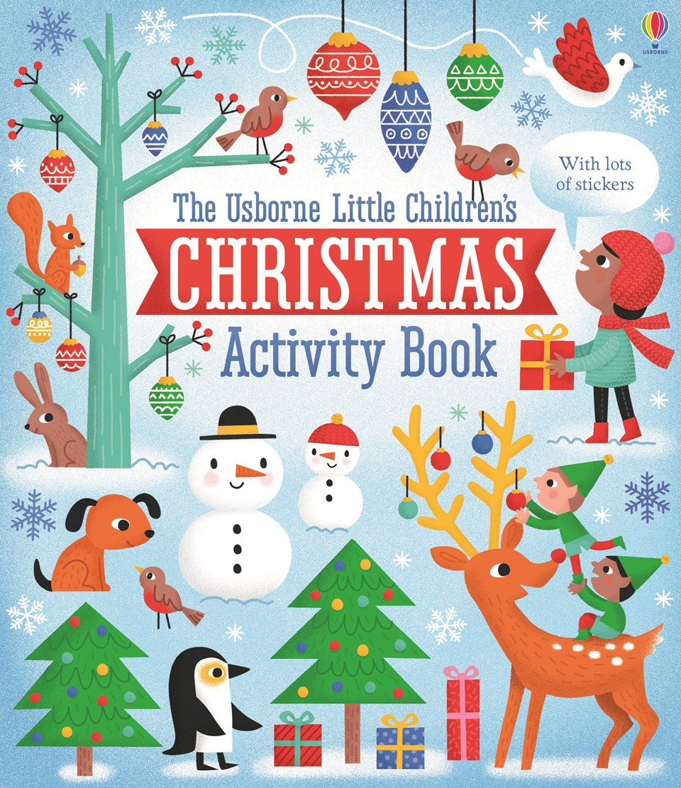 Christmas Coloring And Activity Books With Activities For Little Children Pages