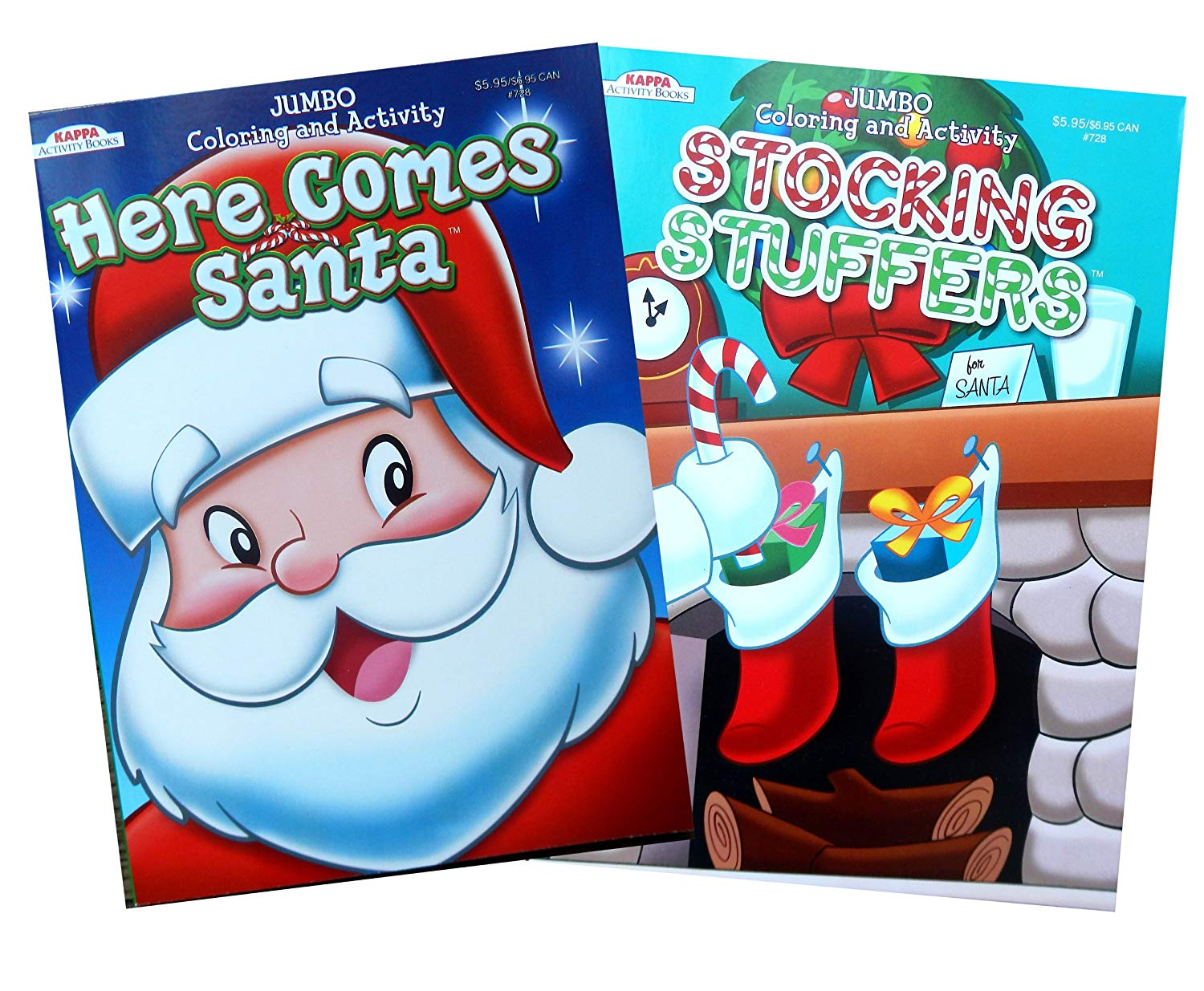 Christmas Coloring And Activity Books With Amazon Com Book Set Here Comes