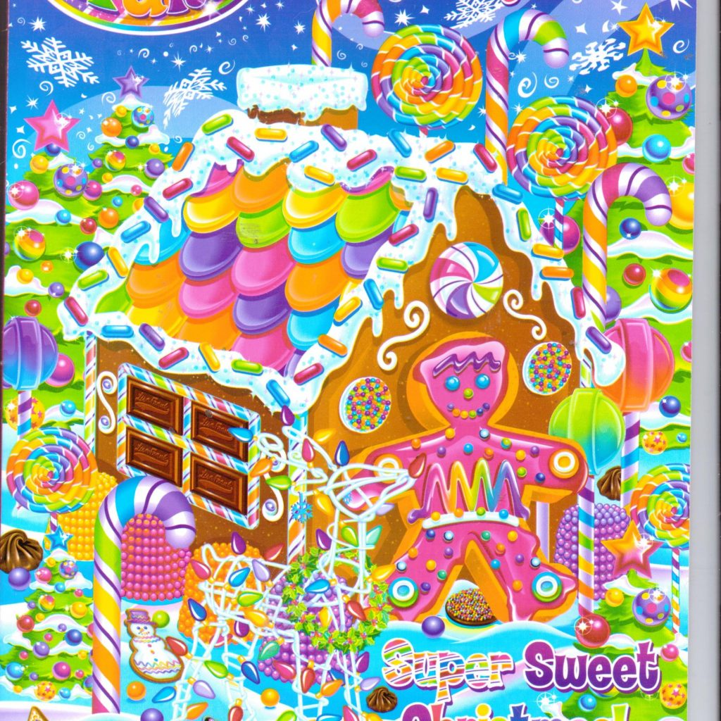 Christmas Coloring And Activity Books With Lisa Frank Giant Holiday Book Super Sweet