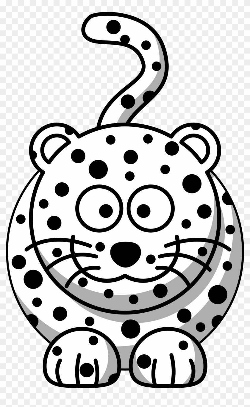Christmas Coloring Book Download With Leopard Clipart Free Transparent