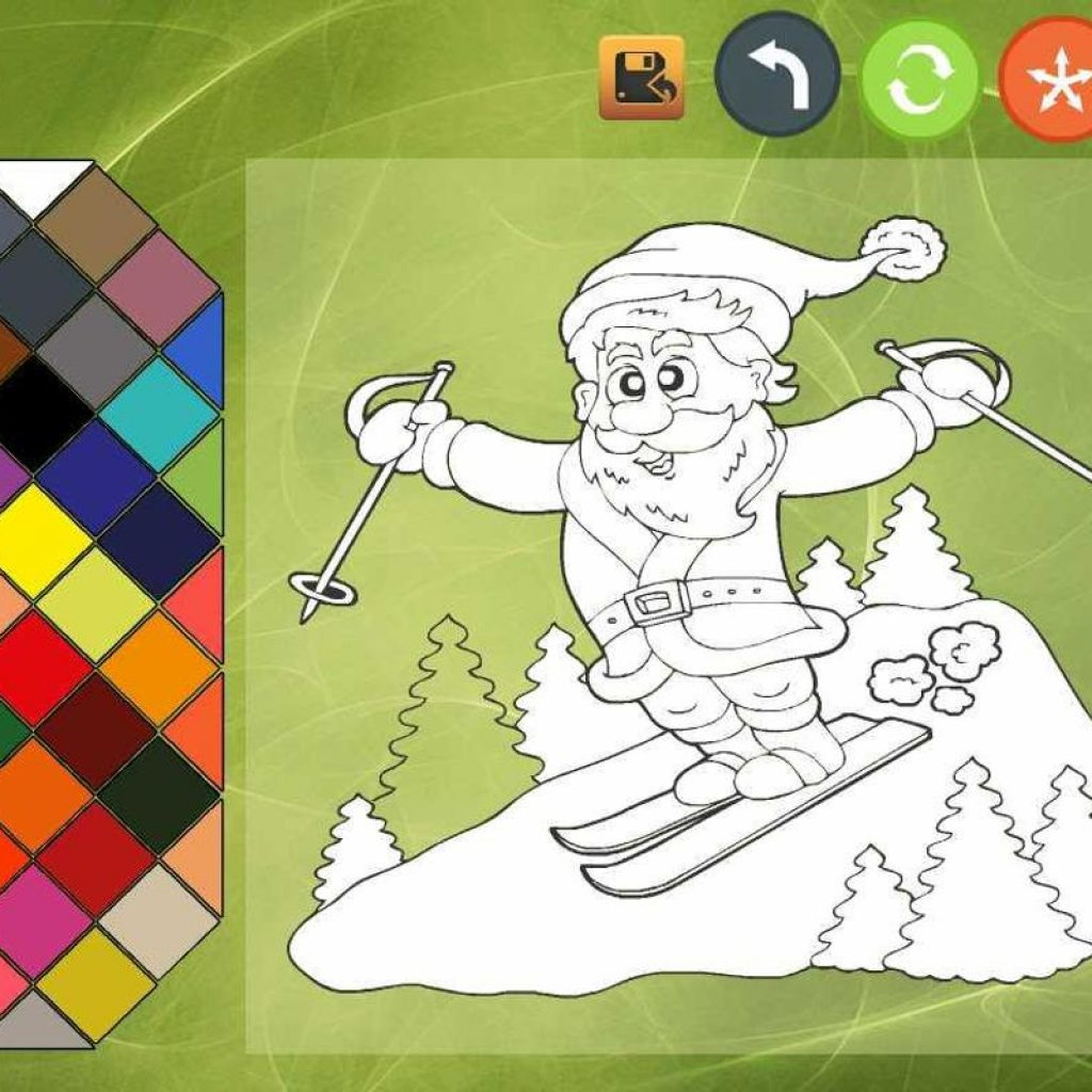 Christmas Coloring Book Games With 2 APK