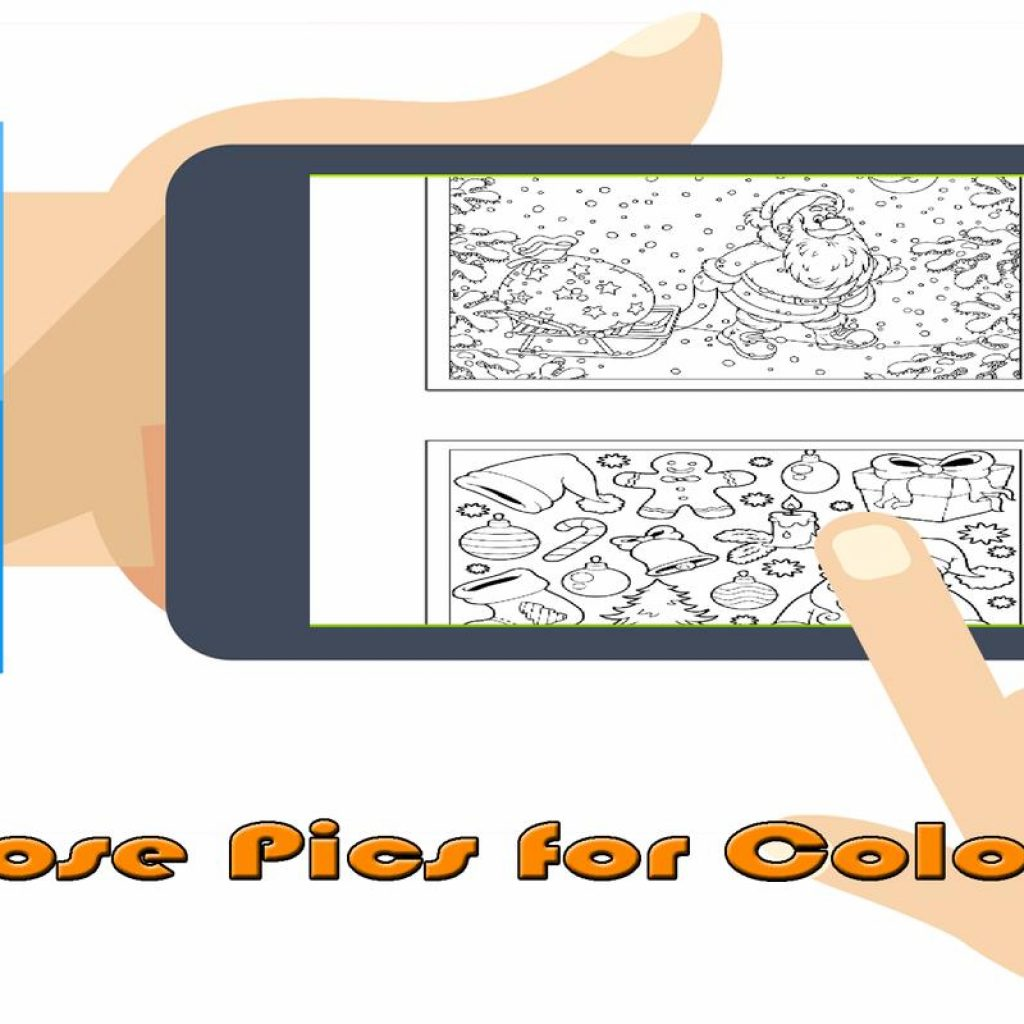 Christmas Coloring Book Games With APK