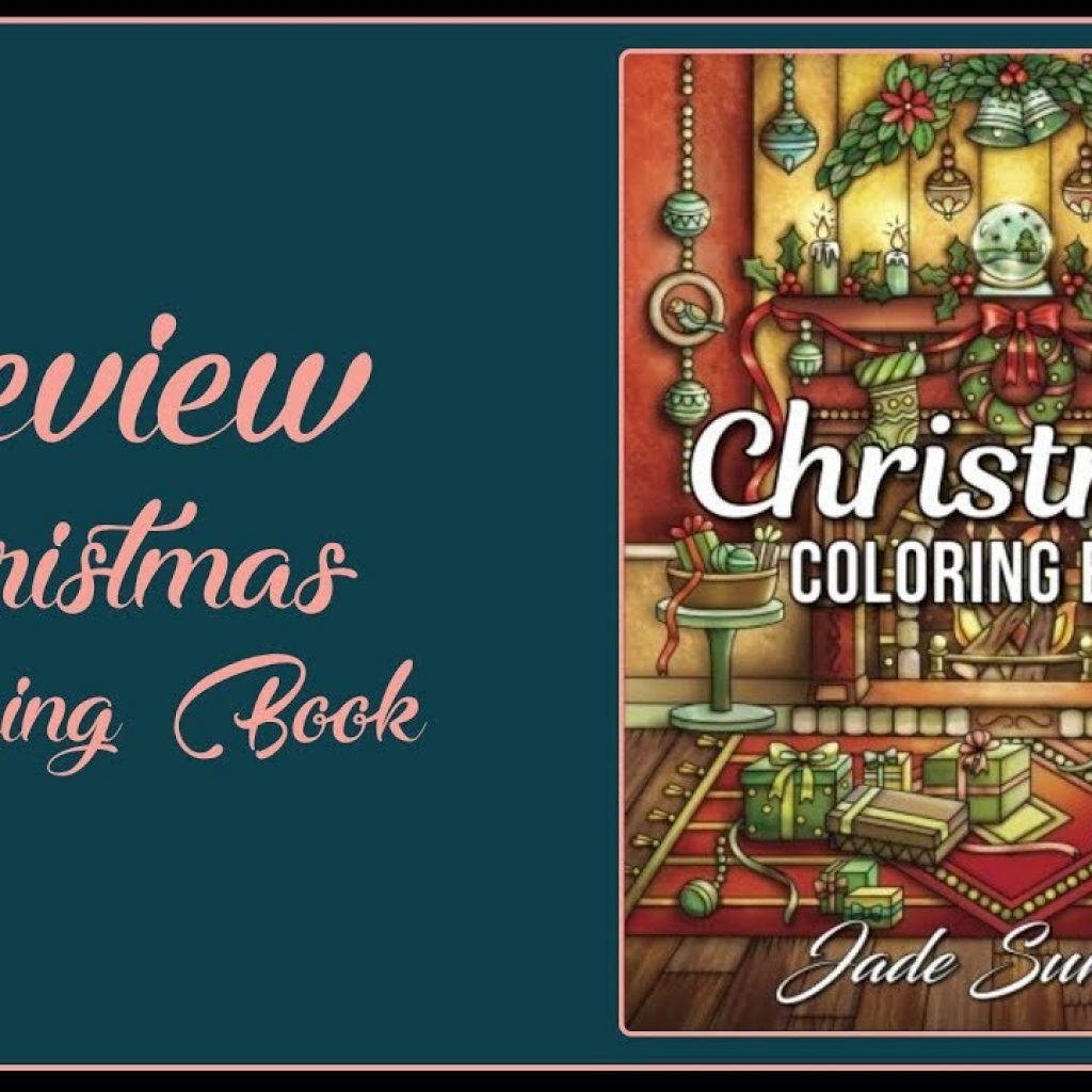 Christmas Coloring Book Jade Summer With By Flip Trough YouTube