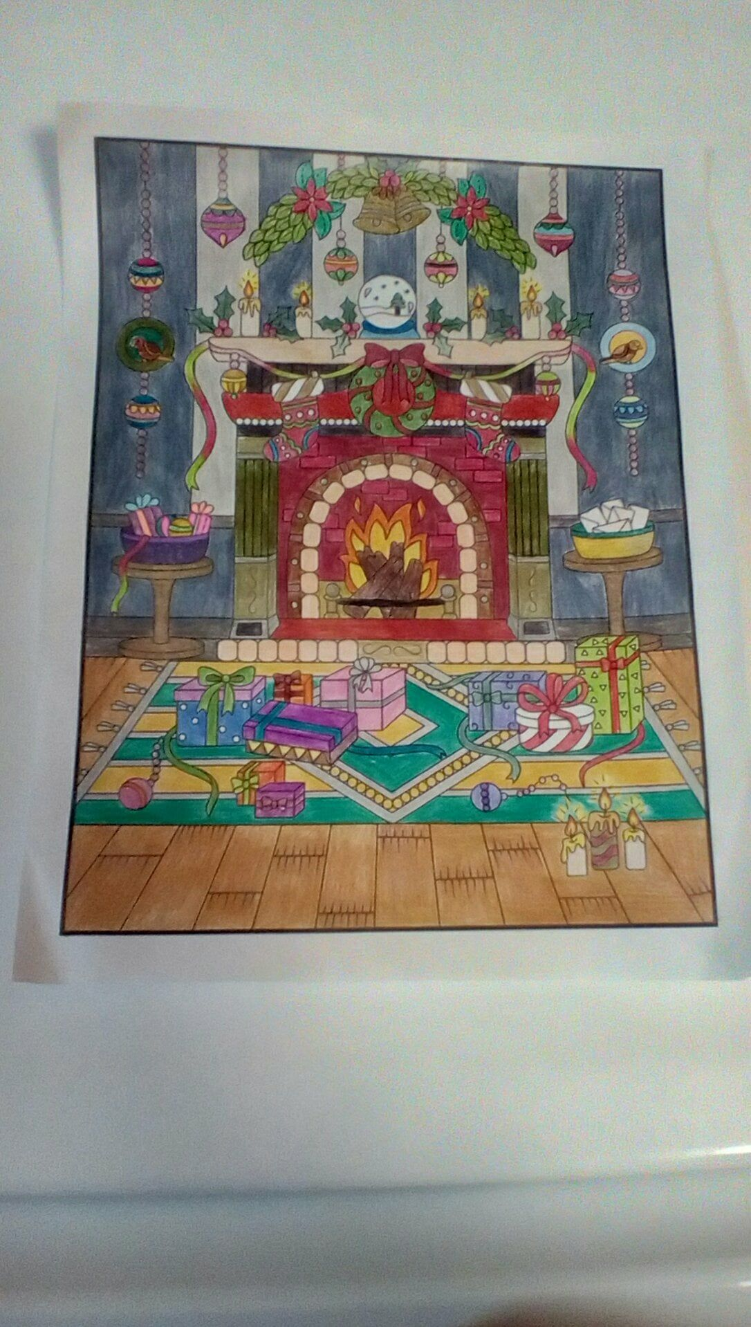 Christmas Coloring Book Jade Summer With By Summers What I Colored