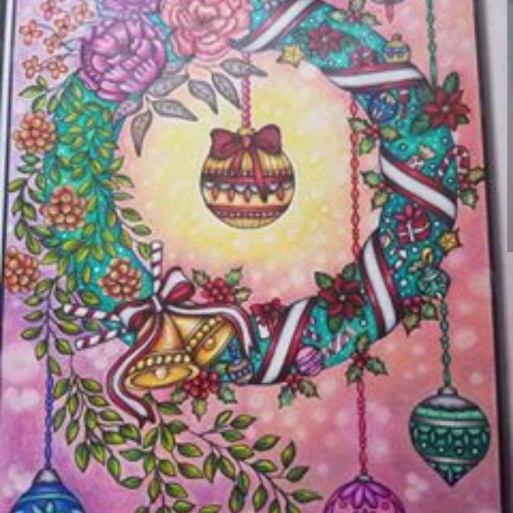 Christmas Coloring Book Jade Summer With Colormas 2017 Pinterest