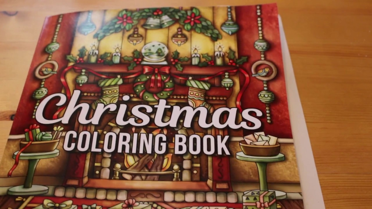 Christmas Coloring Book Jade Summer With Colouring Flip Through YouTube