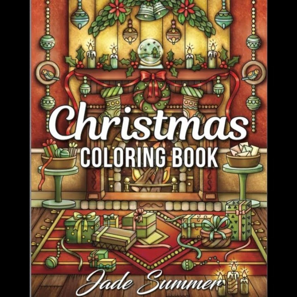 Christmas Coloring Book Jade Summer With Flip Through By