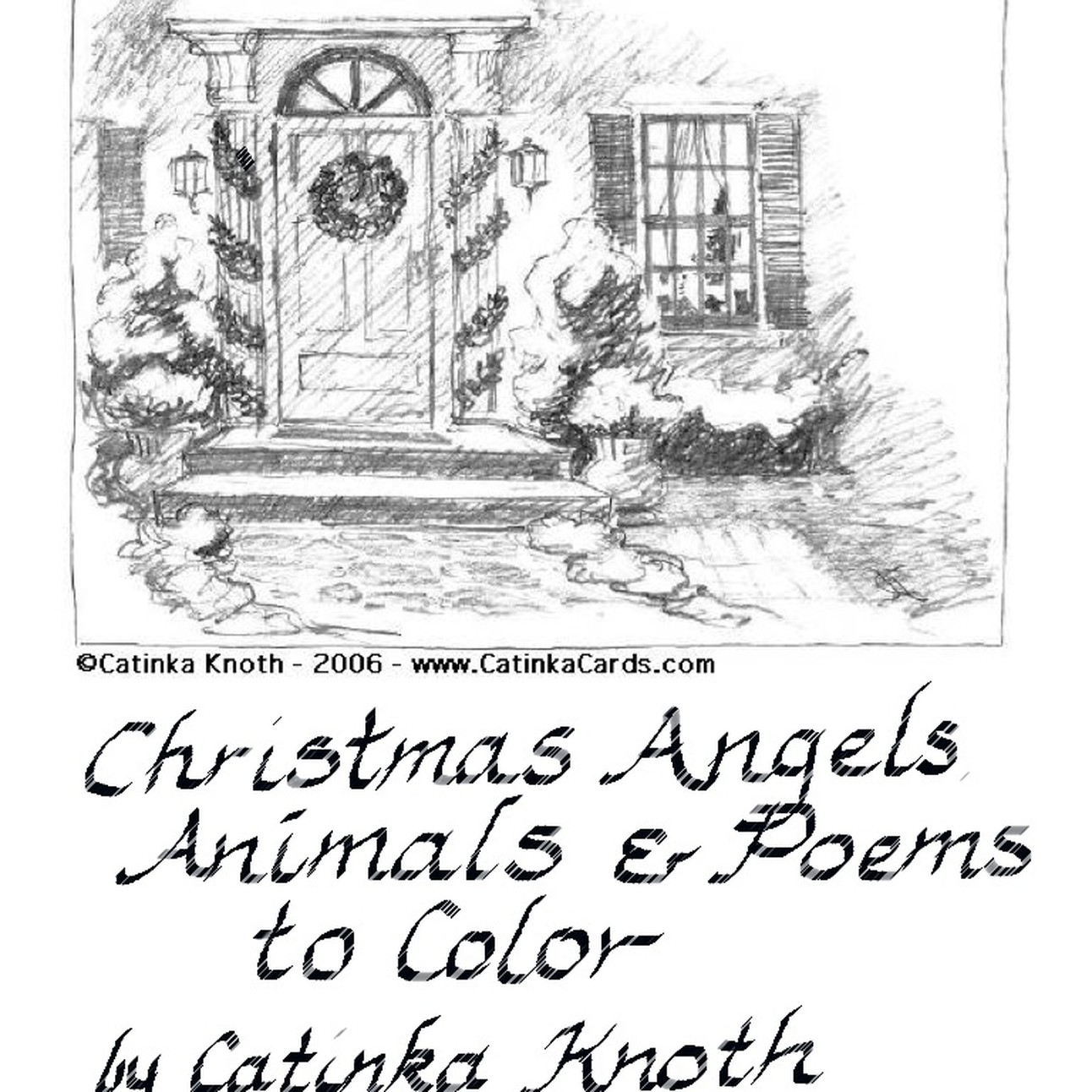 Christmas Coloring Book Pdf With
