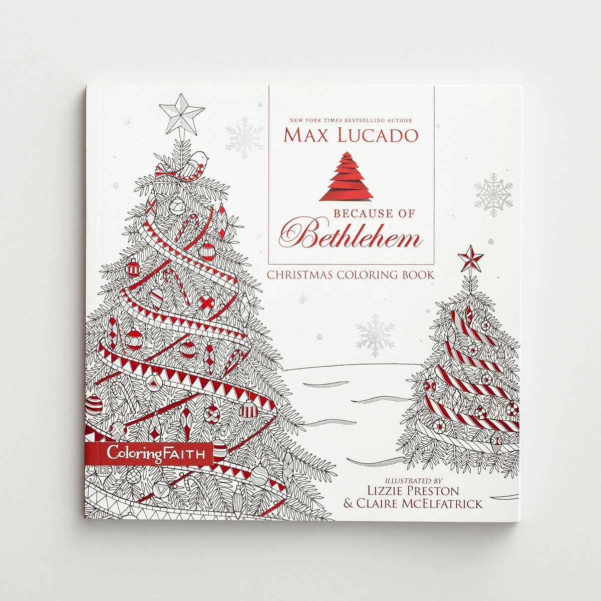 Christmas Coloring Book Pictures With Max Lucado Because Of Bethlehem DaySpring