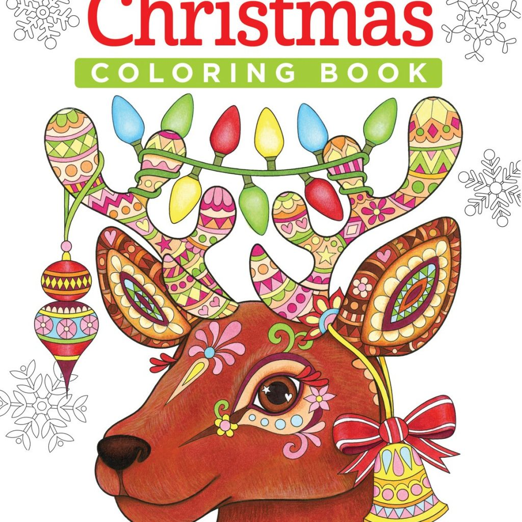 Christmas Coloring Book With