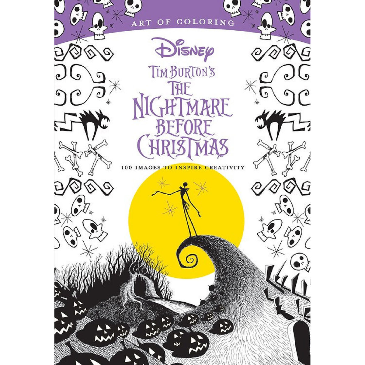 Christmas Coloring Book With Tim Burton S The Nightmare Before Art Of