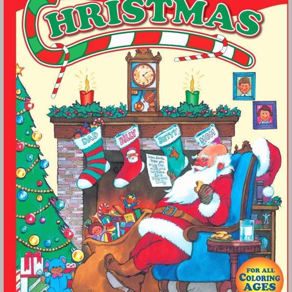 Christmas Coloring Books In Bulk With 77 Unique Photos Of Best