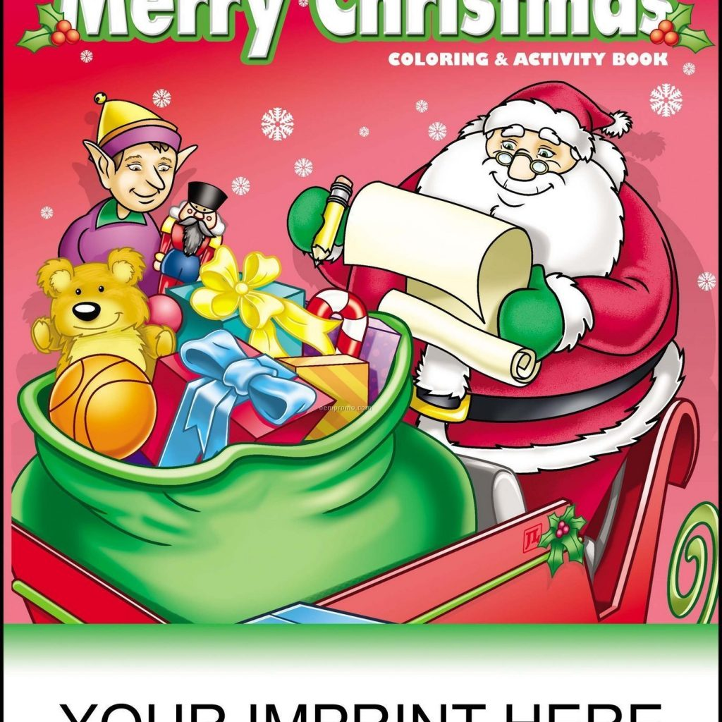Christmas Coloring Books In Bulk With Best Colouring Wholesale Image Collection